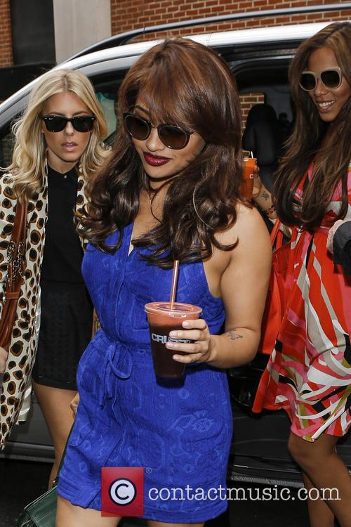 Mollie King, Rochelle Humes, Vanessa White and Rochelle Wiseman 4