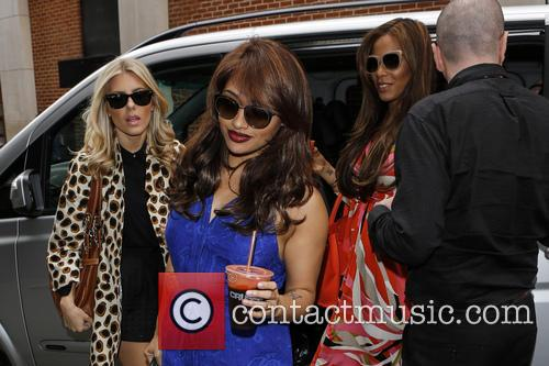 Mollie King, Rochelle Humes, Vanessa White and Rochelle Wiseman 6