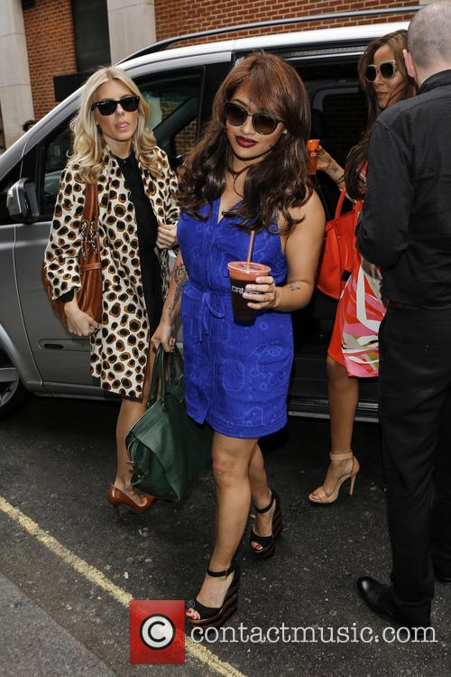 Mollie King, Vanessa White and Rochelle Wiseman 2