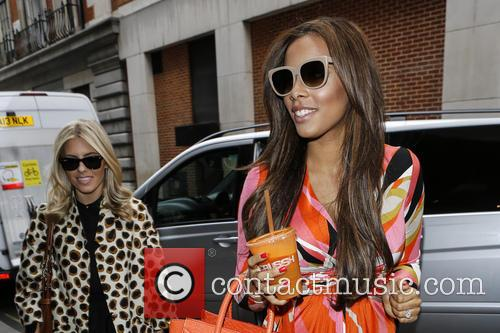 Rochelle Humes, Mollie King and Rochelle Wiseman 5