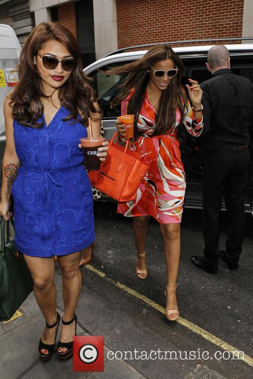 Vanessa White, Rochelle Humes and Rochelle Wiseman 8