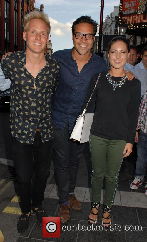 Jamie Laing, Andy Jordan and Louise Thompson 1