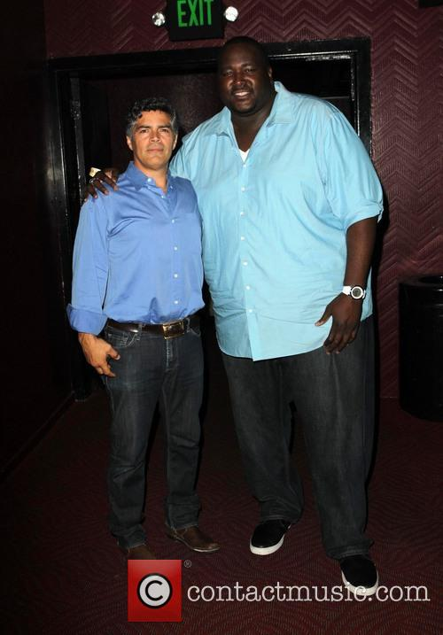 Esai Morales and Quinton Aaron 4