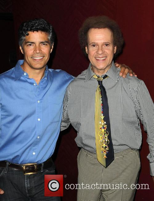 Esai Morales and Richard Simmons 3