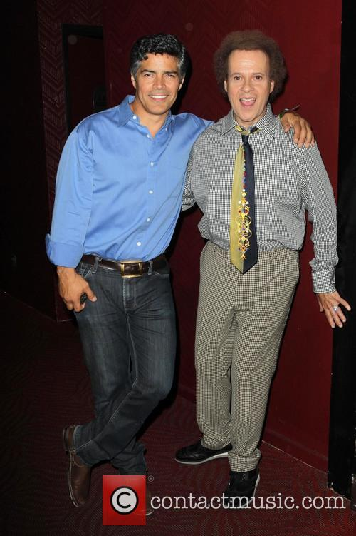 Esai Morales and Richard Simmons 1