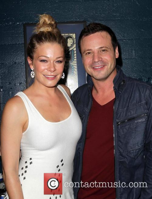 Leann Rimes and Elliot Dal Pra London 2