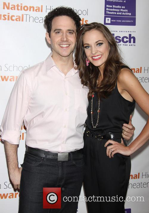 Santino Fontana and Laura Osnes 2