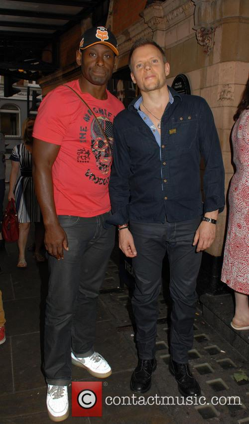 David Harewood and Marc Warren
