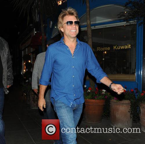 Jon Bon Jovi At Signor Sassi