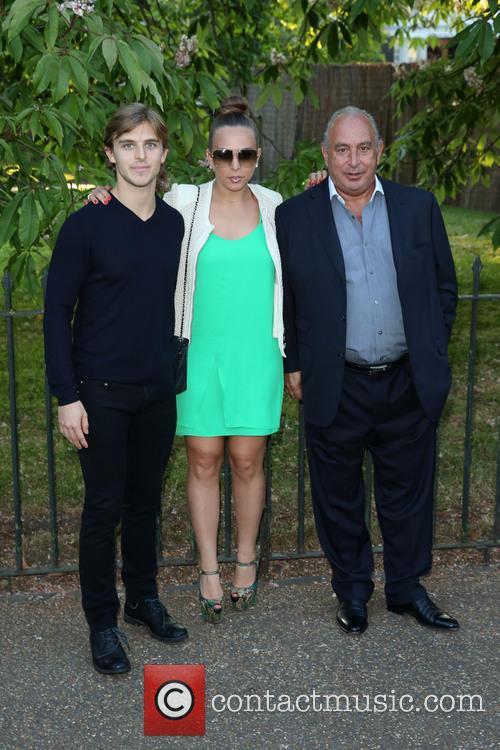 Philip Green, Brandon Green and Chloe Green