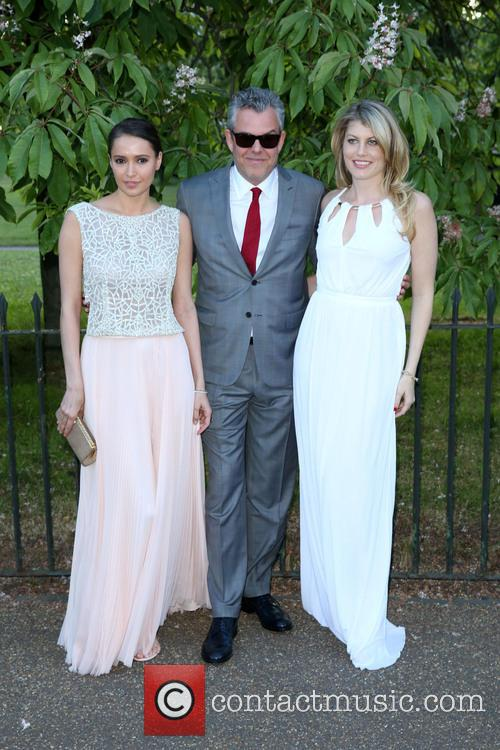 Meredith Ostrom, Danny Huston and Sasha Volkova