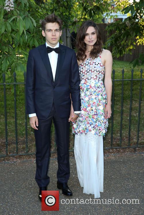 Keira Knightley and Husband 2