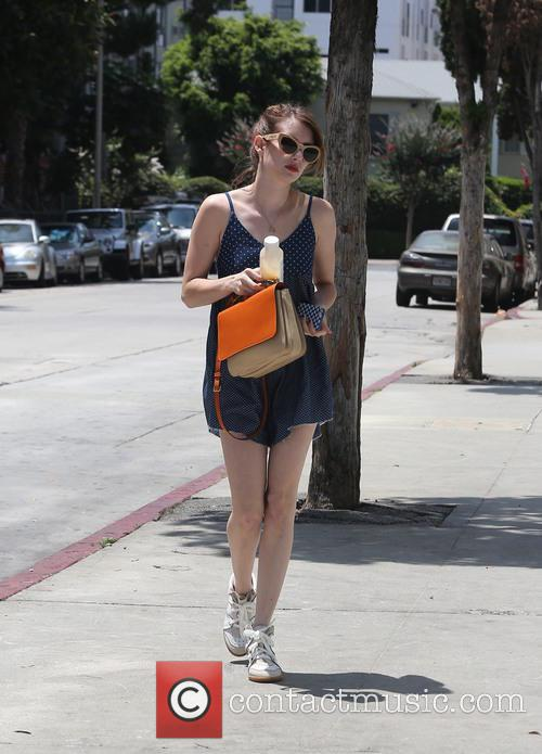 Emma Roberts is seen out shopping in West...