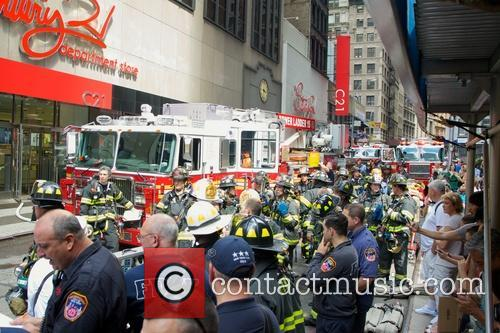 atmosphere new york city firefighters arrive to 3743854