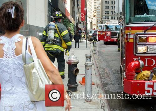 atmosphere new york city firefighters arrive to 3743855