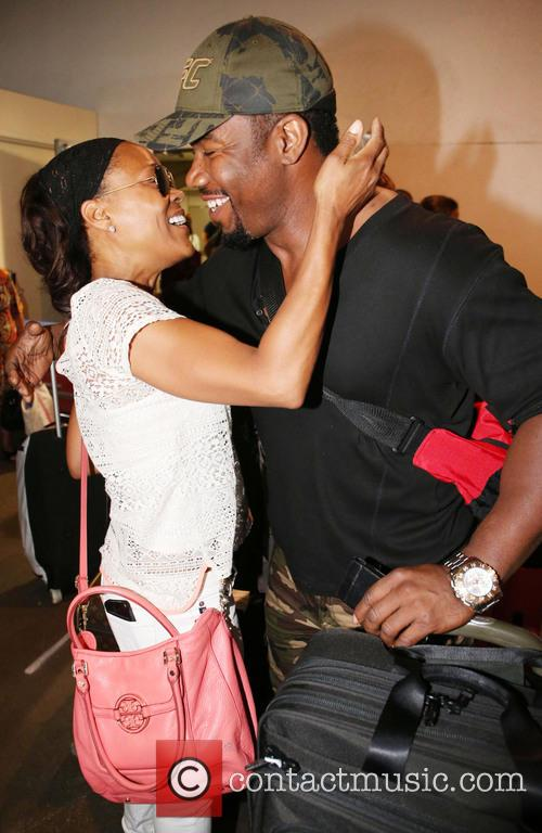 Michael Jai White and Robin Givens 2