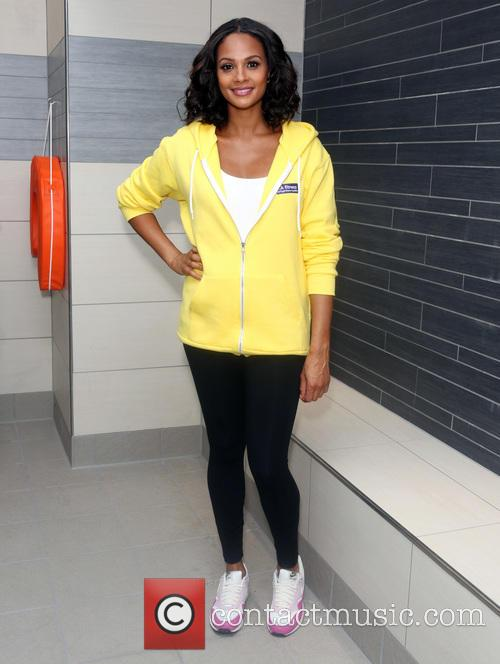 Alesha Dixon LA Fitness launch