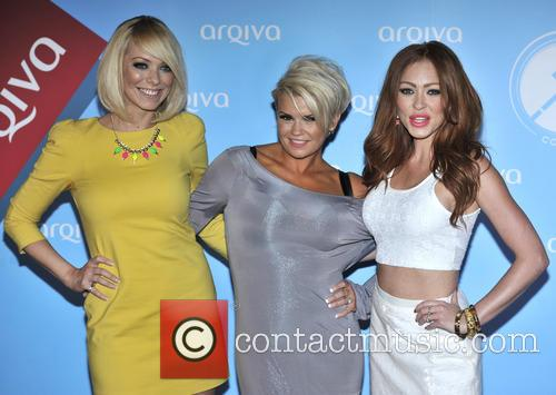 Liz Mcclarnon, Kerry Katona and Natasha Hamilton Of Atomic Kitten 2