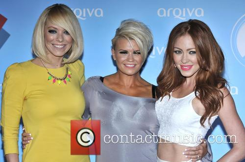 Liz Mcclarnon, Kerry Katona and Natasha Hamilton Of Atomic Kitten 3