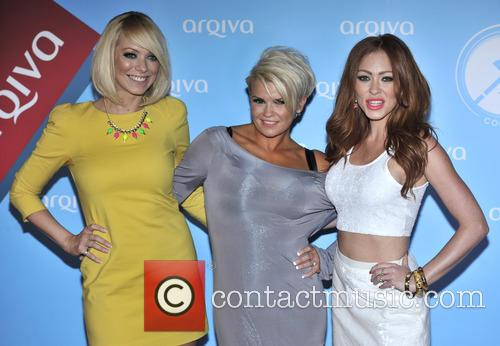 Liz Mcclarnon, Kerry Katona and Natasha Hamilton Of Atomic Kitten 1