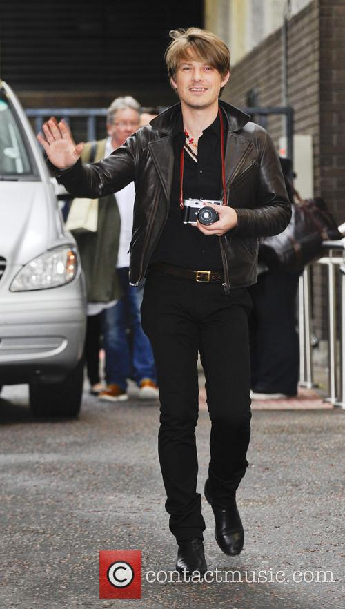 taylor hanson celebrities at the itv studios 3745065