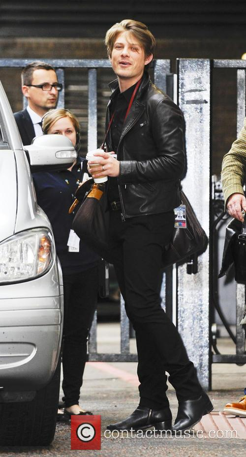 taylor hanson celebrities at the itv studios 3745066