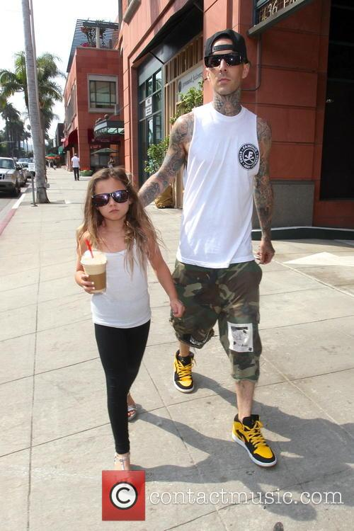 Travis Barker and Alabama Luella Barker 16