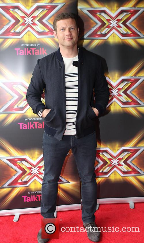 dermot o'leary x factor judges arrive for 3745579