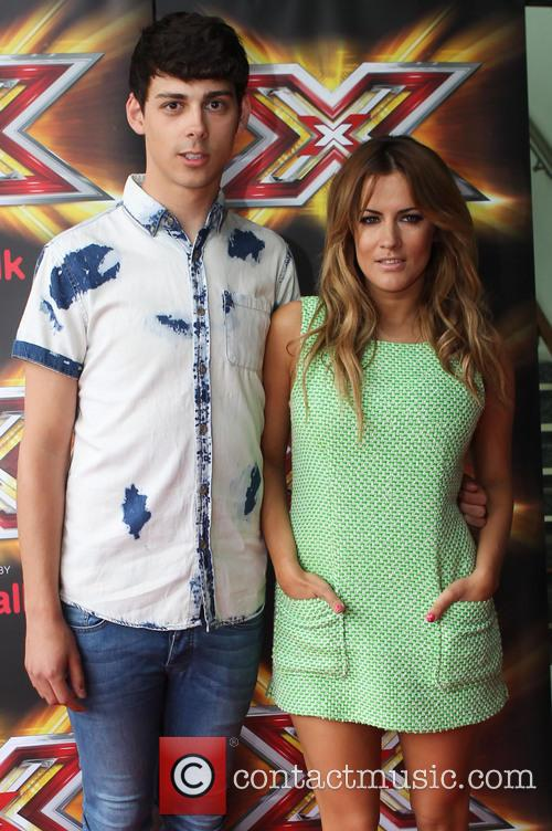 Matt Richardson and Caroline Flack 6