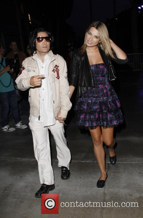 corey feldman celebrities arrivie to watch fleetwood 3744935