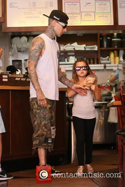 Travis Barker and Alabama Luella Barker 10