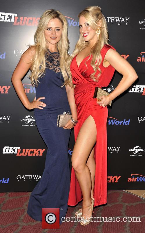 Emily Atack and Rebecca Ferdinando 2