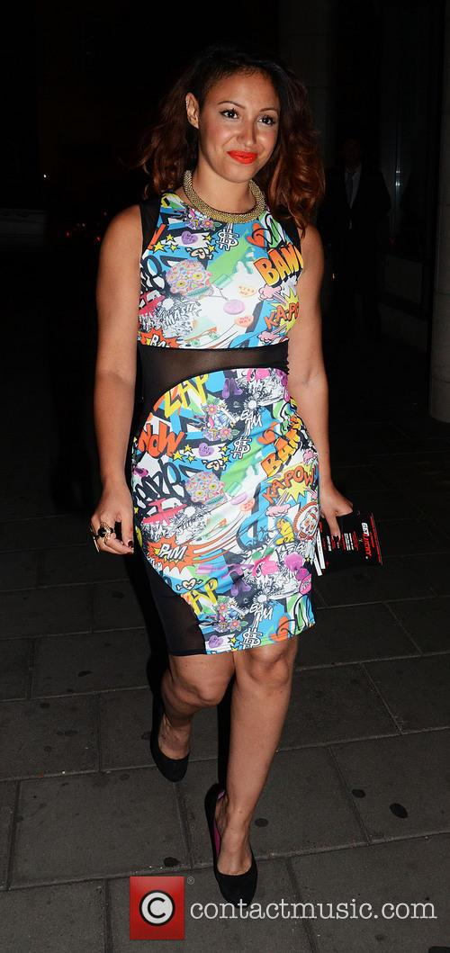 amelle berrabah uk premiere of get lucky 3746788