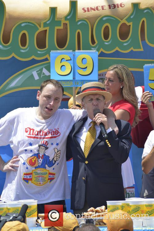 joey chestnuts 2013 nathans hotdog eating contest 3746245