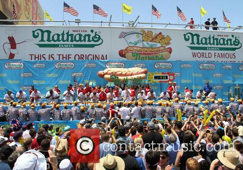 Nathan's and Hot Dog Competition 1