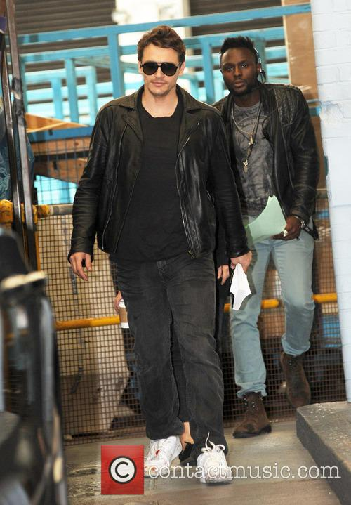 james franco celebrities at the itv studios 3745659