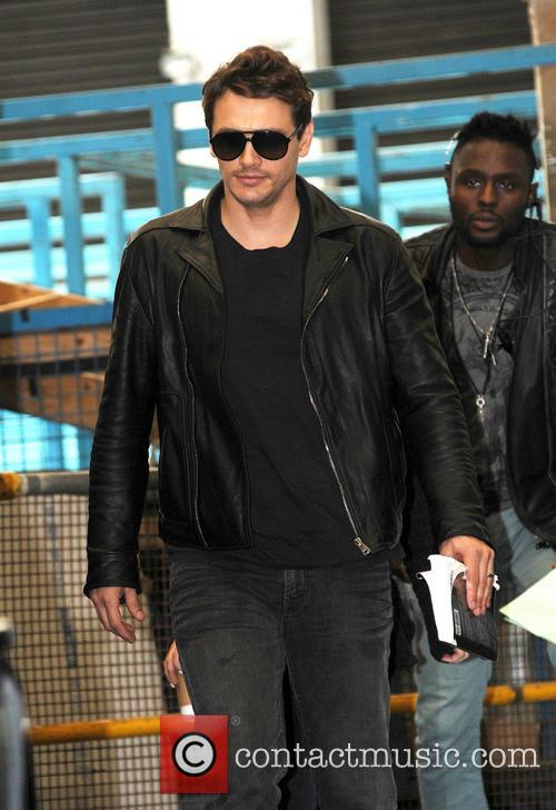 james franco celebrities at the itv studios 3745662
