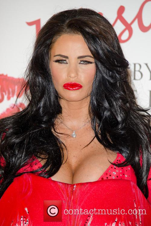 Katie Price launches her new fragrance 'Kissable'