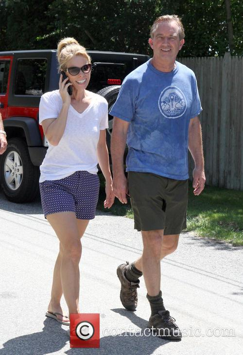 Robert Kennedy Jr and Cheryl Hines 1
