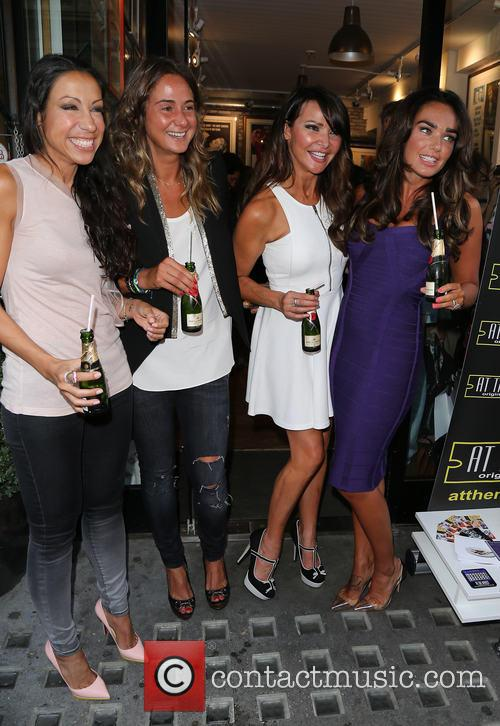 Lizzie Cundy and Tamara Ecclestone 6