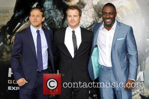 Charlie Hunnam, Charlie Day and Idris Elba 3