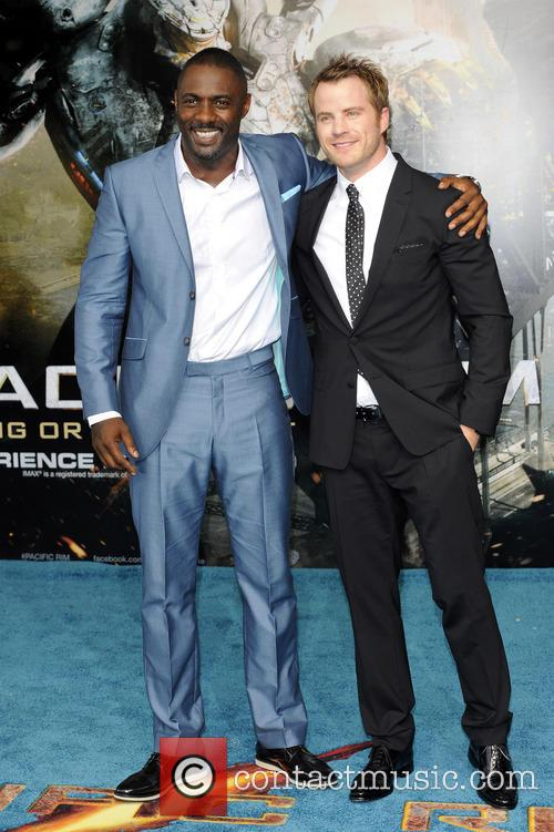 Idris Elba and Robert  Kazinsky 2