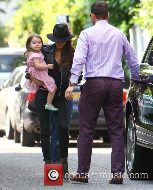 Victoria Beckham and Harper Beckham 6