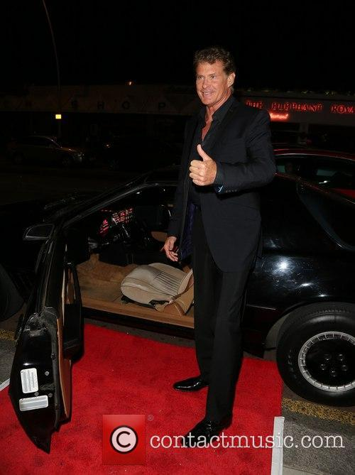David Hasselhoff makes a personal appearance at Visage...