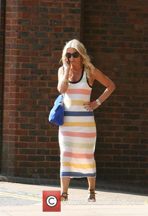 Denise van Outen out and about