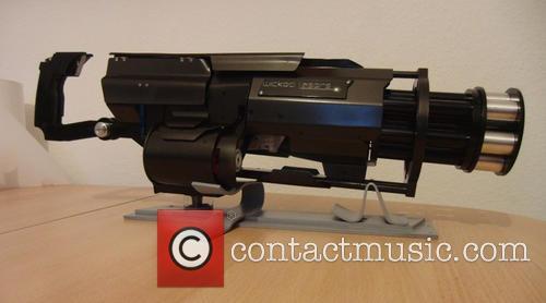 A proof-of-concept Laser Gatling Gun