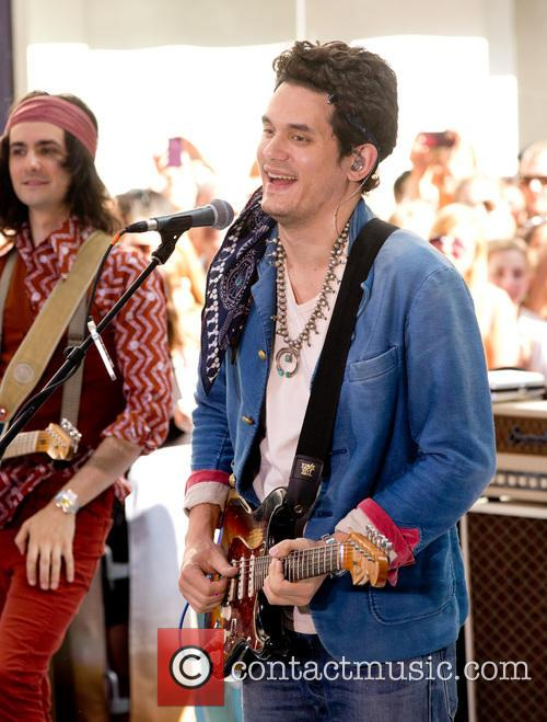 John Mayer performing live 'Today Show'
