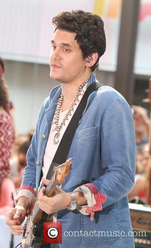 John Mayer performs live