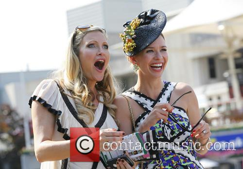 caprice bourret caprice and friends at sandown 3747408