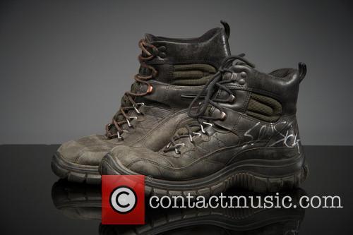 seasick steve glastonbury artists donate their shoes 3750552